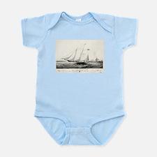 The yacht Haze - 1861 Infant Bodysuit