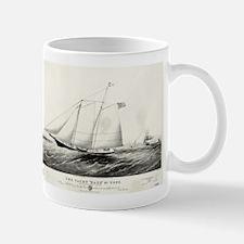 The yacht Haze - 1861 Mug