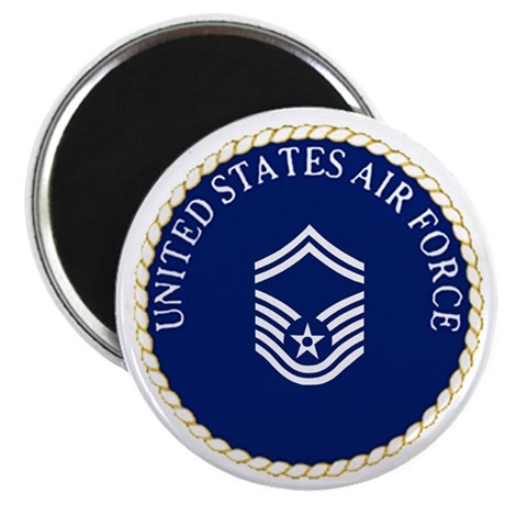 USAFSeniorMasterSergeantCapCrest.gif Magnet