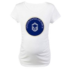 USAFSeniorMasterSergeantCapCrest Shirt