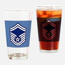 USAFSeniorMasterSergeantCoaster.gif Drinking Glass