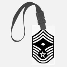 USAFFirstSergeantE9BlackMeshCap. Luggage Tag