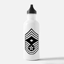 USAFFirstSergeantE9Bla Water Bottle