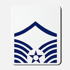 USAFMasterSergeantBlueStripes.gif Mousepad