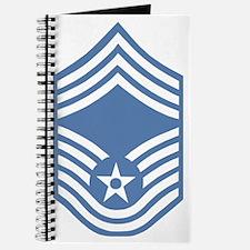 USAFChiefMasterSergeantLightBlue.gif Journal