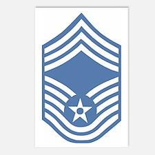 USAFChiefMasterSergeantLi Postcards (Package of 8)