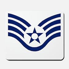 USAFStaffSergeantBlueStripes.gif Mousepad