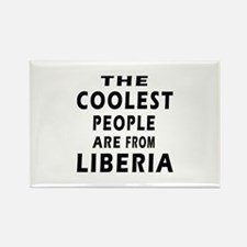 The Coolest Liberia Designs Rectangle Magnet