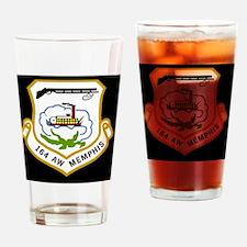 ANGTenn164thAWBlackCap2.gif Drinking Glass