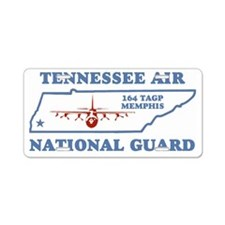 ANGTenn164thTacticalAirlift Aluminum License Plate