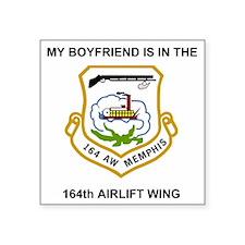 "ANGTenn164thAWMyBoyfriend.g Square Sticker 3"" x 3"""