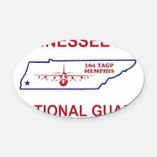 ANGTenn164thTacticalAirliftGroupTe Oval Car Magnet