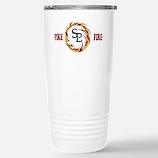 DamonBlackMeshCap.gif Travel Mug