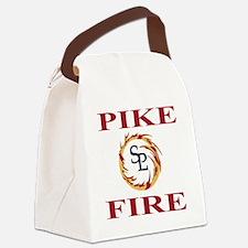 DamonTeeshirt3.gif Canvas Lunch Bag