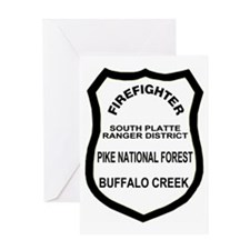 ForestServicePikeForestMessengerBag2 Greeting Card
