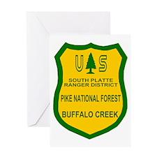 ForestServicePikeNFBadge.gif Greeting Card