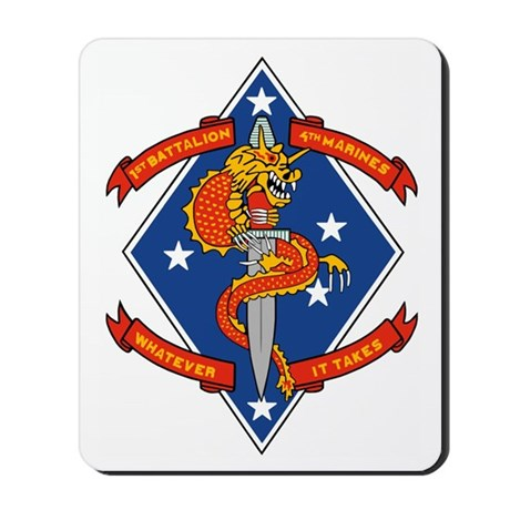 USMC1stBn4thMarinesPatchBonnie.gif Mousepad