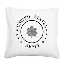 ArmyLieutenantColonel.gif Square Canvas Pillow
