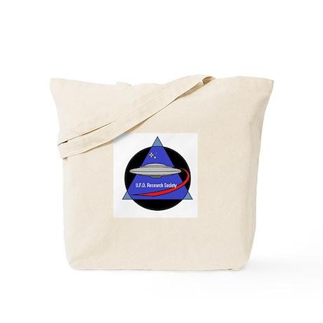 UFO Research Society Logo Tote Bag