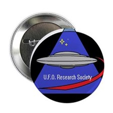 "UFO Research Society Logo 2.25"" Button"
