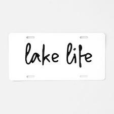 lake life Aluminum License Plate