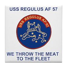 USSRegulusTeeshirt2.gif Tile Coaster