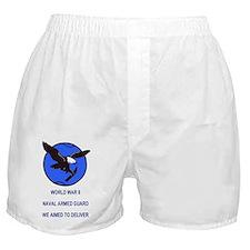 NavyArmedGuardSticker.gif Boxer Shorts