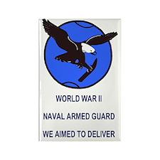 NavyArmedGuardSticker.gif Rectangle Magnet