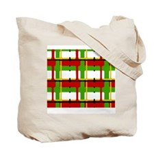 Christmas Plaid Tote Bag