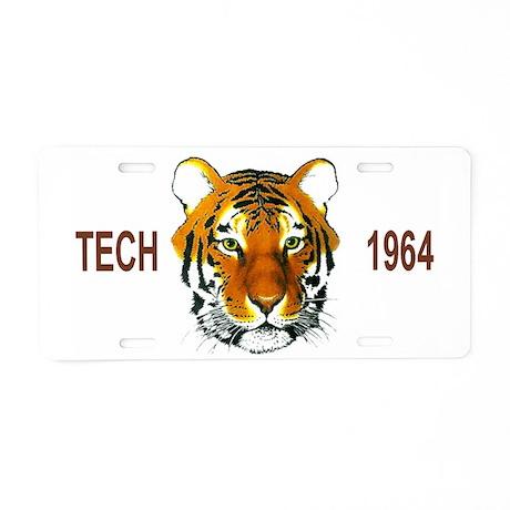 Tech1964Cap.gif Aluminum License Plate