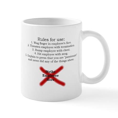 #1 Mayor Mug