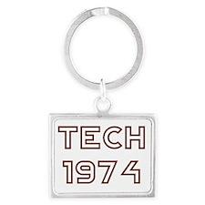 Tech1974Teeshirt9Yellow.gif Landscape Keychain