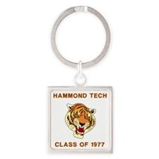 Tech1977Teeshirt1.gif Square Keychain