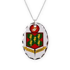 USMC5thMarineRegimentBonnie.gi Necklace
