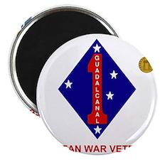 USMC1stMarineDivisionKoreanWarVeteran.gif Magnet