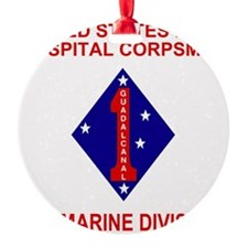 USMC1stMarineDivisionNavyCorpsman2. Ornament