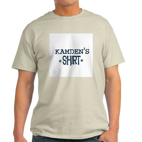 Kamden Ash Grey T-Shirt