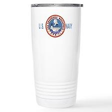 USSTheodoreRooseveltBlueMeshCap Travel Mug