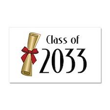 Class of 2033 Diploma Car Magnet 20 x 12