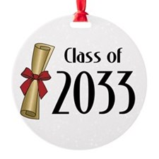 Class of 2033 Diploma Ornament