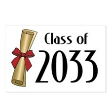 Class of 2033 Diploma Postcards (Package of 8)