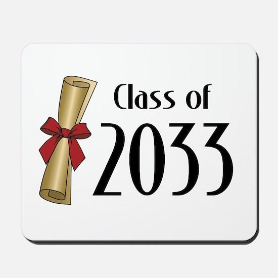 Class of 2033 Diploma Mousepad