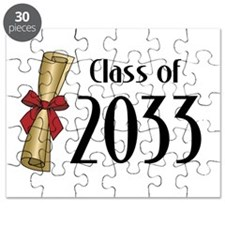Class of 2033 Diploma Puzzle