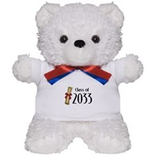 Class of 2033 Diploma Teddy Bear
