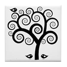 Trees Tile Coaster