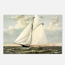 Yacht Gracie of New York - 1882 Postcards (Package