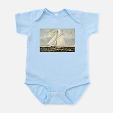 Yacht Gracie of New York - 1882 Infant Bodysuit