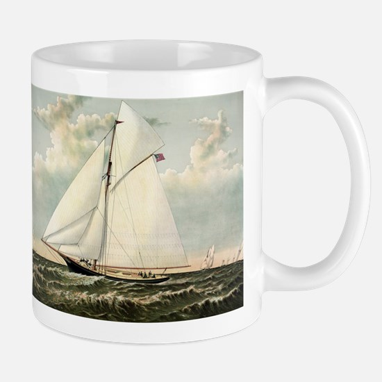 Yacht Gracie of New York - 1882 Mug