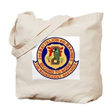 USMC2ndBn4thMarinesBonnie.gif Tote Bag