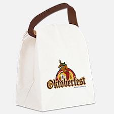 Oktoberfest Dachshund and Accordian Canvas Lunch B